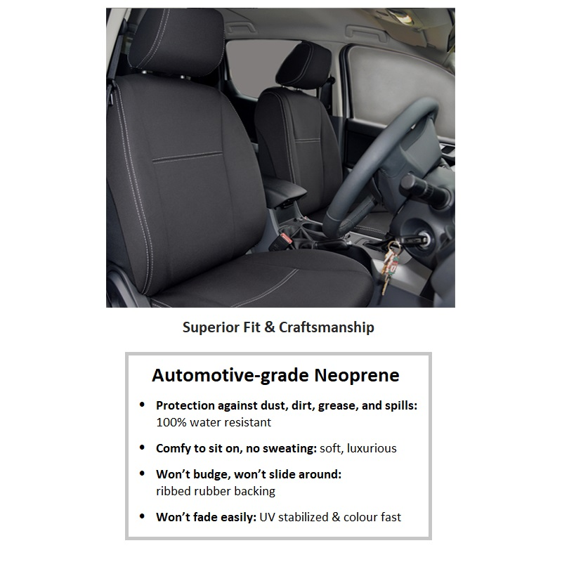 1 Front Seat Covers Generic Supertrim