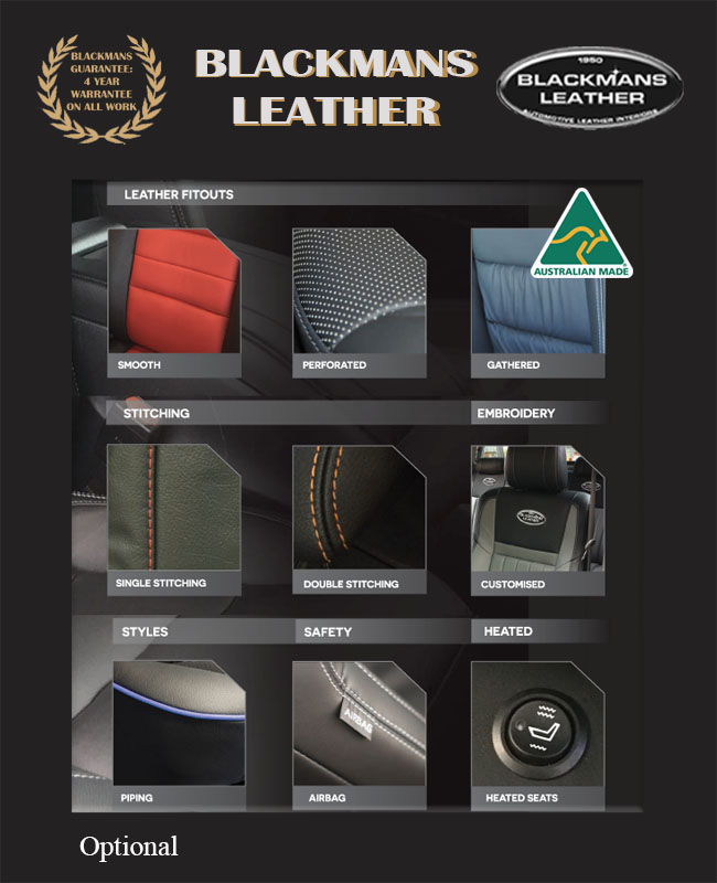leather fitouts