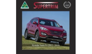 Supertrim's Custom Made Neoprene Seat Covers Suited Hyundai Santa Fe DM Series