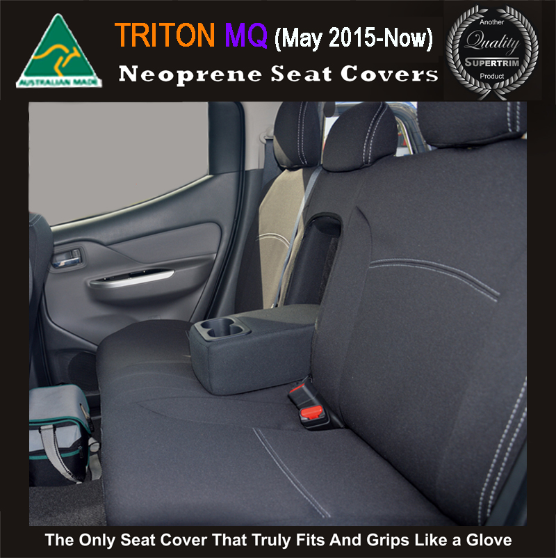 Seat Covers Rear Snug Fit For Triton Mn 2009 2014