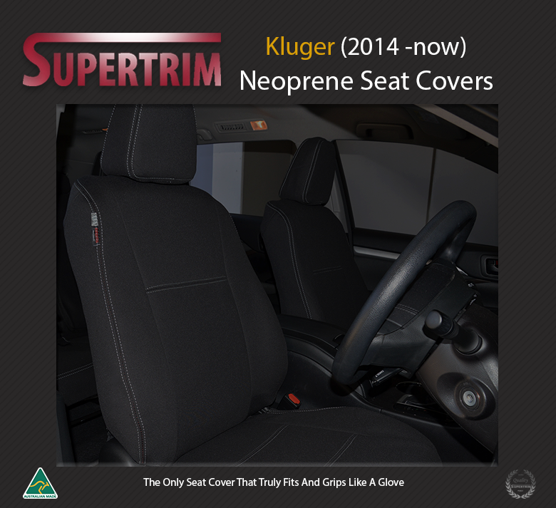 Toyota Kluger Neoprene Seat Covers Supertrim