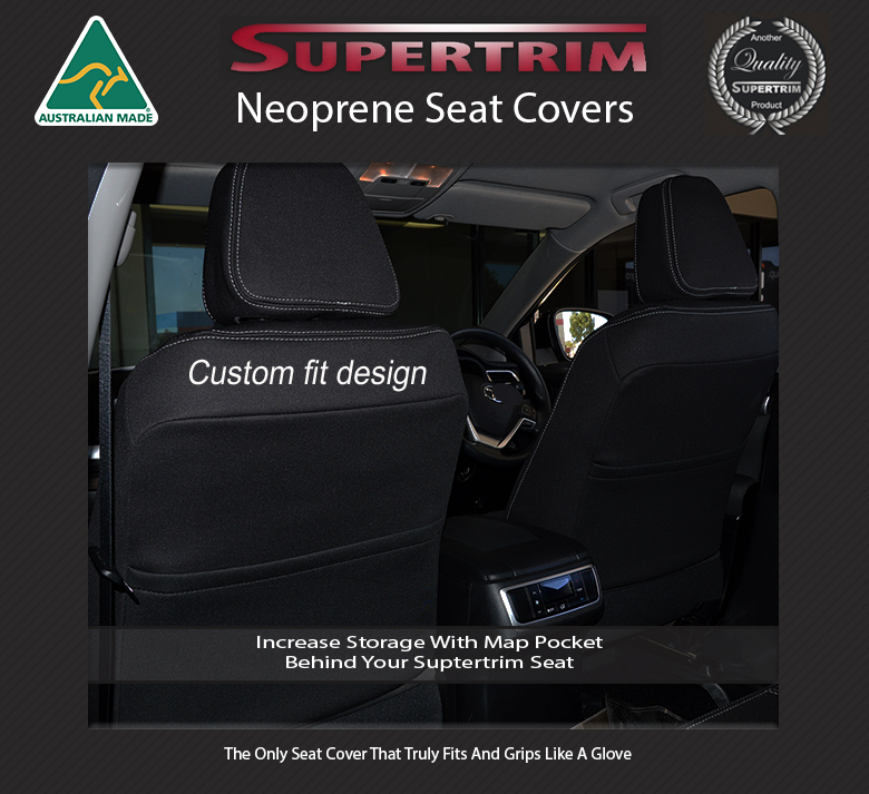 Seat Covers Front Pair With Full Length Amp Map Pockets Snug