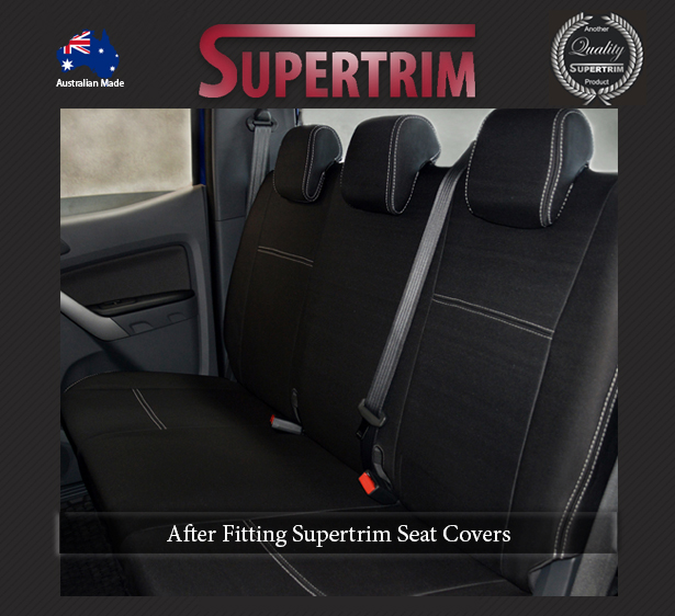 Mazda Bt 50 Up Aug 2011 Sept 2015 Rear Dual Cab Seat