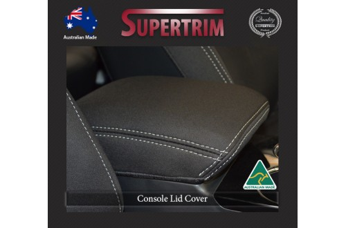 CONSOLE Lid Cover Snug Fit For Mitsubishi Pajero Sport QE (2016 - Now), Premium Neoprene