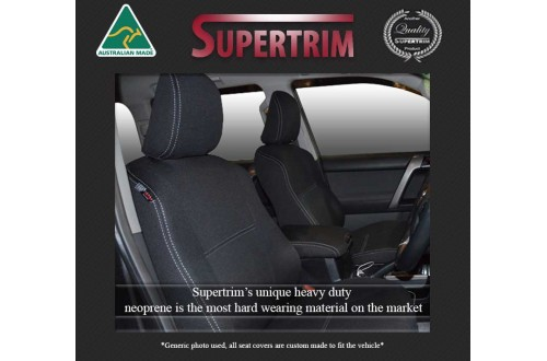 VT/VX/VY/VZ Holden Commodore FRONT Full-back Seat Covers Snug Fit, Premium Neoprene (Automotive-Grade) 100% Waterproof