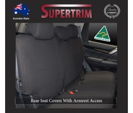 Mitsubishi Pajero Neoprene Custom Car Seat Covers Middle Row