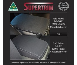 Ford Falcon (2002-Now) Console Lid Cover Premium Neoprene (Automotive-Grade) 100% Waterproof