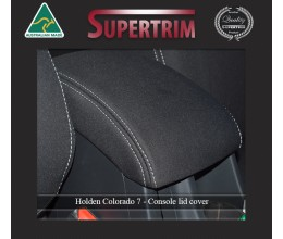 CONSOLE Lid Cover Snug Fit for Holden Colorado 7 RG (Dec 2012 - Now), Premium Neoprene (Automotive-Grade) 100% Waterproof