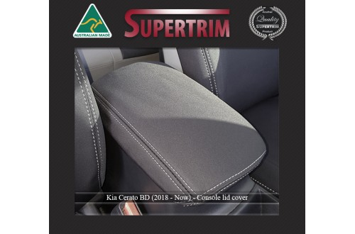 Kia Cerato Hatch (2018-NOW) CONSOLE Lid Cover Custom Fit, Premium Neoprene (Automotive-Grade) 100% Waterproof