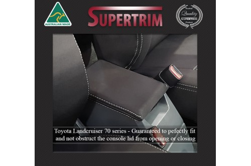 Console Lid Cover suitable for Toyota Landcruiser 70-79 Series Premium Neoprene (Automotive-Grade) 100% Waterproof