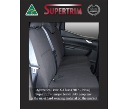 Mercedes-Benz X-Class REAR Custom Car Seat Covers Premium Neoprene (Wetsuit)