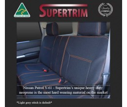 NISSAN PATROL REAR Full-length Seat Covers NEOPRENE WATERPROOF UV TREATED