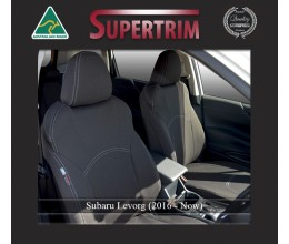 Subaru Levorg FRONT Seat Covers Custom Fit (2016-Now), Premium Neoprene, Waterproof | Supertrim