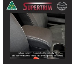 Subaru Liberty & Outback Console Lid Cover Premium Neoprene (Automotive-Grade) 100% Waterproof