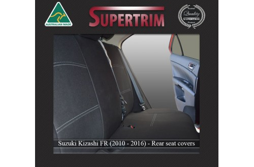 SUZUKI KIZASHI REAR NEOPRENE WATERPROOF UV TREATED WETSUIT CAR SEAT COVER