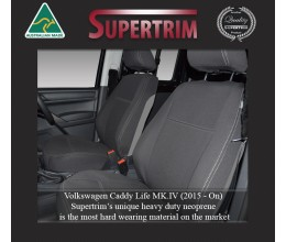 TOP VOLKSWAGEN (VW) CADDY FRONT WATERPROOF NEOPRENE CAR SEAT COVERS