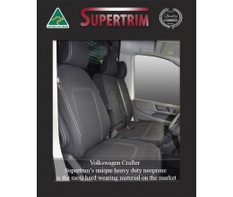 VOLKSWAGEN (VW) CRAFTER 2016-Now FRONT 3-Seat Bucket and Bench WATERPROOF NEOPRENE CAR SEAT COVERS