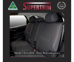 Mazda CX-8 Middle Row Seat Covers Full-length Custom Fit (2018-Now), Premium Neoprene | Supertrim