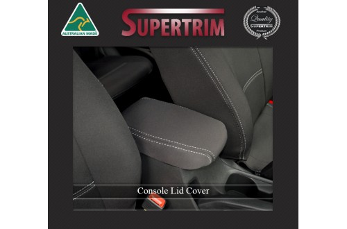 CONSOLE LID COVER Custom Fit Hyundai i30 PD (2017-Now), Premium Neoprene, Waterproof | Supertrim