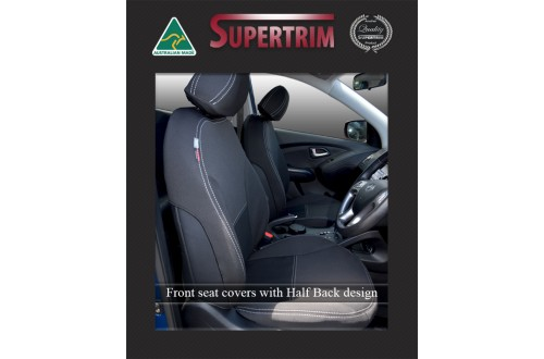 Hyundai i30 PD FRONT seat covers Custom Fit (2017-Now), Premium Neoprene, Waterproof | Supertrim