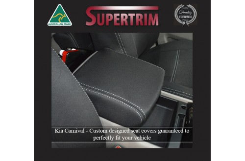 Kia Carnival YP (2015 - 2020) CONSOLE Lid Cover Custom Fit, Premium Neoprene (Automotive-Grade) 100% Waterproof
