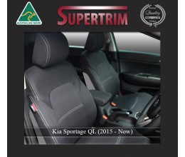 Kia Sportage QL FRONT seat covers Custom Fit (2015-NOW), Premium Neoprene, Waterproof | Supertrim