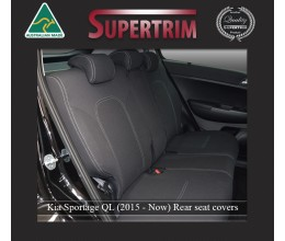 Kia Sportage QL REAR seat covers Full-length Custom Fit (2015-Now), Premium Neoprene, Waterproof | Supertrim