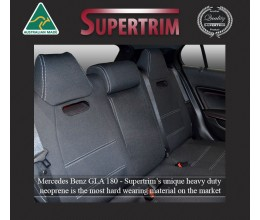 MERCEDES-BENZ GLA180 (2014-Now) REAR NEOPRENE WATERPROOF UV TREATED WETSUIT CAR SEAT COVER