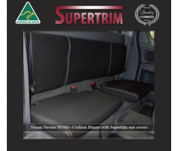 Seat Covers Extra Cab Rear Snug Fit for Nissan Navara NP300 May 2015 - Now Extra Cab, Premium Neoprene (Automotive-Grade) 100% Waterproof