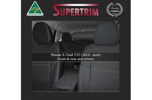 ALL 3 ROWS Custom Fit Nissan X-Trail T32 (2014-Now), Premium Neoprene, Waterproof | Supertrim