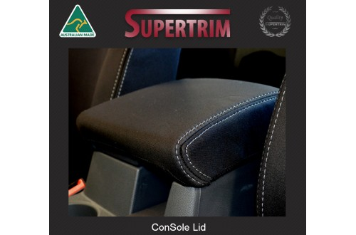 CONSOLE Lid Cover Snug Fit for Volkswagen Amarok Mar 2011 - Now, Premium Neoprene (Automotive-Grade) 100% Waterproof