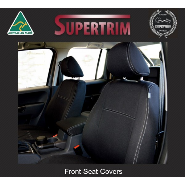 RENAULT TRAFIC MASTER SEAT COVERS BLUE NEW FABRIC FRONT  FOR