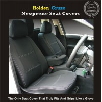 HOLDEN CRUZE WATERPROOF, UV TREATED, WETSUIT FRONT CAR SEAT COVERS