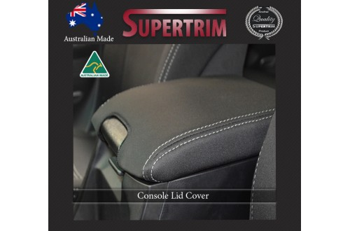 CONSOLE LID COVER for Toyota Prado 90 series, Snug Fit, Premium Neoprene (Automotive-Grade) 100% Waterproof