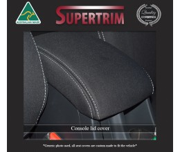 CONSOLE Lid Cover Snug Fit For Nissan Navara D40 (Nov 2005 - May 2015), Premium Neoprene (Automotive-Grade) 100% Waterproof