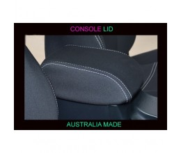 Mitsubishi Challenger CONSOLE LID COVER - BLACK Waterproof Neoprene (Wetsuit), UV Treated