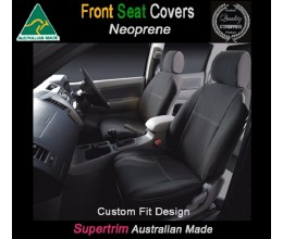 Seat Covers FRONT PAIR suitable for Toyota Rav 4 Premium Neoprene (Automotive-Grade) 100% Waterproof