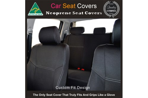 Holden Captiva ( 2017 model available) 2nd Row Seat Covers Premium  Neoprene (Automotive-grade) 100% Waterproof Copy