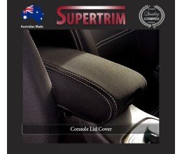CONSOLE Lid Cover Snug Fit for Jeep Grand Cherokee 2011 - Now, Premium Neoprene (Automotive-Grade) 100% Waterproof