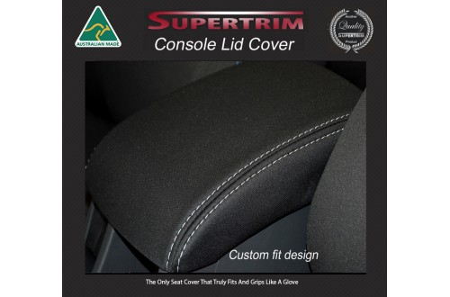 Console Lid Cover Snug Fit for Toyota Hiace (Mar 2005 - Now) H200 MK.5 (Commuter Bus) Premium Neoprene (Automotive-Grade) 100% Waterproof