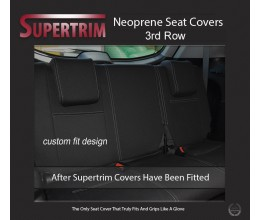 Mitsubishi Pajero Sport 3rd Row Neoprene Custom Car Seat Covers Third Row