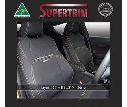 FRONT seat covers Custom Fit Toyota C-HR (2017-NOW), Premium Neoprene, Waterproof | Supertrim