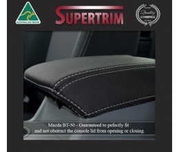 Mazda BT-50 UP (Aug 2011 - Sept 2015) Console Lid Cover, Snug Fit, Premium Neoprene (Automotive-Grade) 100% Waterproof