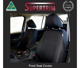 MAZDA CX-7 SEAT COVERS - FRONT PAIR, BLACK Waterproof Neoprene (Wetsuit), UV Treated Copy