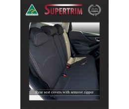 Subaru Levorg REAR Full-back Seat Covers Custom Fit (2017-Now), Premium Neoprene, Waterproof | Supertrim