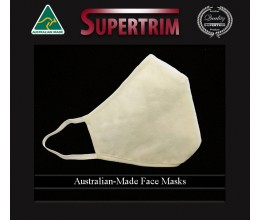 Face Masks Australian-Made 3-Layers of Protection Re-usable US Natural Cotton