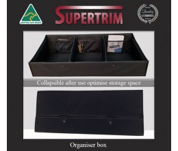 HOLDEN BARINA BOOT TIDY / SELF STORAGE CARGO ORGANISER BOX