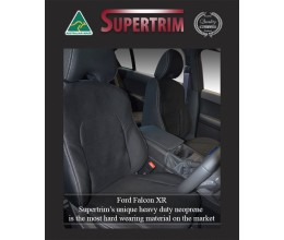 Ford Falcon Front Full-back with Map Pockets + Rear Waterproof Seat Covers