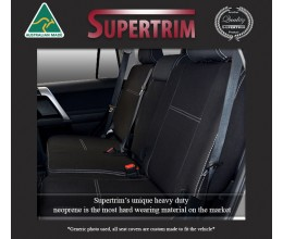 REAR seat covers for Toyota Prado 90 series, Snug Fit, Premium Neoprene (Automotive-Grade) 100% Waterproof