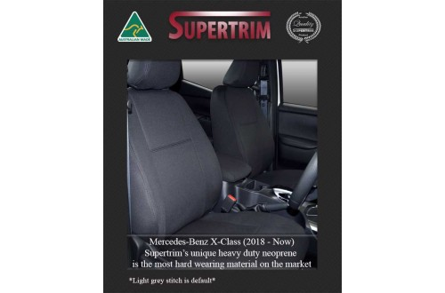 Mercedes-Benz X-Class Custom Car Seat Covers Premium Neoprene (Wetsuit)